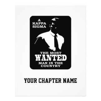Kappa Sigma - The Most Wanted Flyer