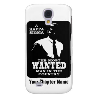 Kappa Sigma - The Most Wanted Galaxy S4 Case