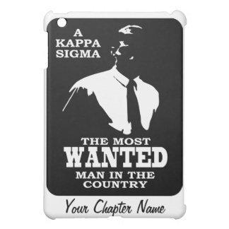 Kappa Sigma - The Most Wanted iPad Mini Cover