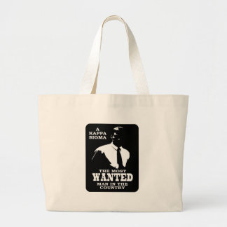 Kappa Sigma - The Most Wanted Large Tote Bag