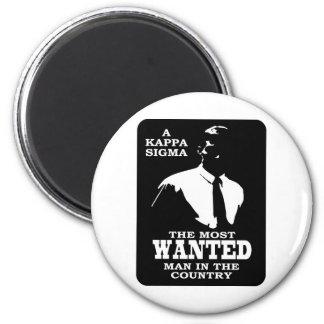 Kappa Sigma - The Most Wanted Fridge Magnets