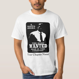 Kappa Sigma - The Most Wanted T-Shirt