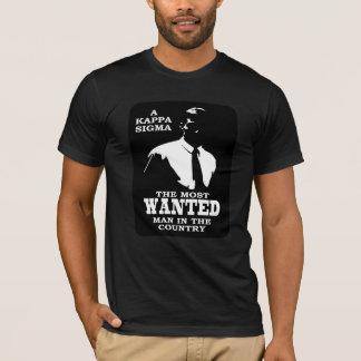 Kappa Sigma - The Most Wanted T-Shirt