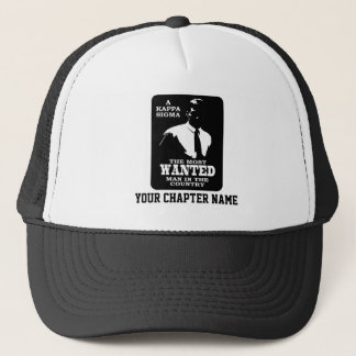 Kappa Sigma - The Most Wanted Trucker Hat