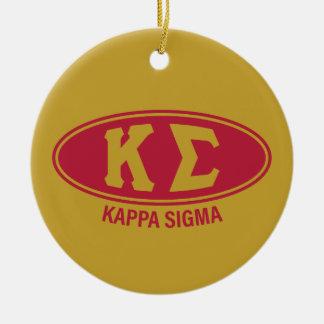 Kappa Sigma | Vintage Christmas Ornament