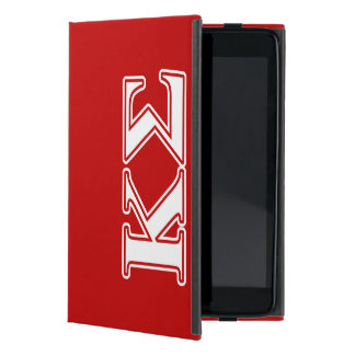 Kappa Sigma White and Red Letters Case For iPad Mini
