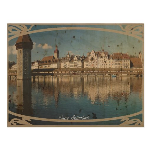 Kappelbruecke, Luzern Postcard