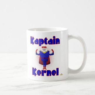 Kaptain Kernel Popcorn Superhero Coffee Mug
