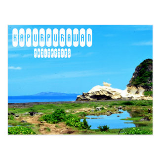 Kapurpurawan Rock Formation Postcard