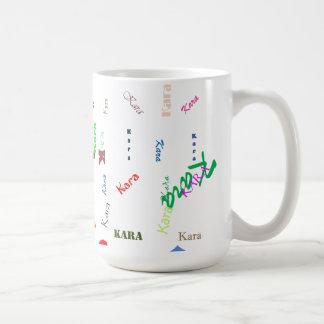 Kara Personalized Mug Large and Small
