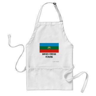 Karachay-Cherkess Republic Flag Standard Apron