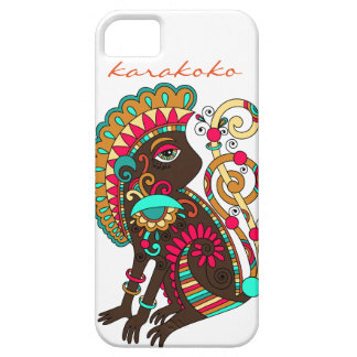 Karakoko Fashio Ethnic Monkey iPhone Case