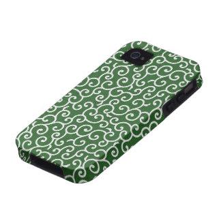 KARAKUSA - arabesque arabesque pattern Case For The iPhone 4