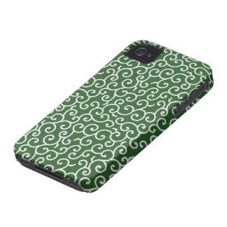 KARAKUSA - arabesque arabesque pattern iPhone 4 Case-Mate Case