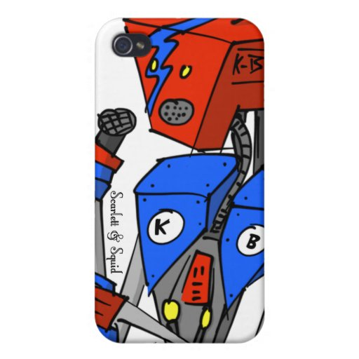 Karaoke Bot for 4/4s Covers For iPhone 4