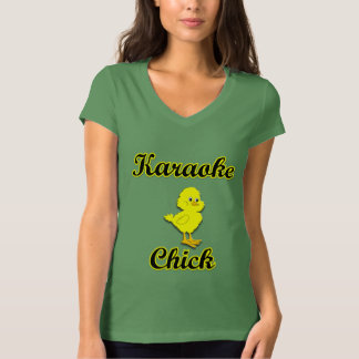 Karaoke Chick T-Shirt