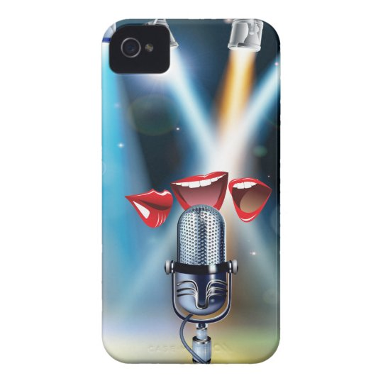 Karaoke Funny iPhone 4 Cases