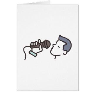 Karaoke Man Card