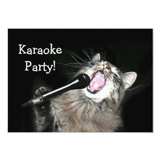 Karaoke Party Card