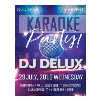 Karaoke Party | DJ |  Club Flyer