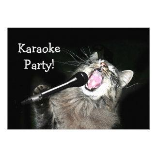 Karaoke Party Invitation
