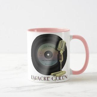 Karaoke Queen Personalized Drinkware Mug
