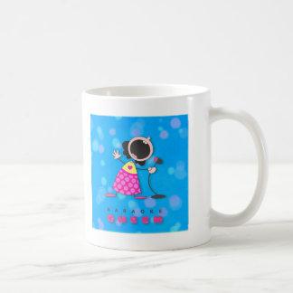 Karaoke Queen Singing Mug