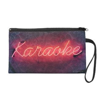 Karaoke Sign Wristlet