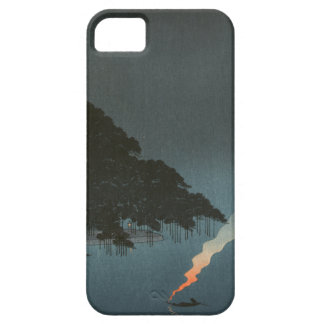Karasaki Pines at Night - Japanese Woodblock Print Case For The iPhone 5