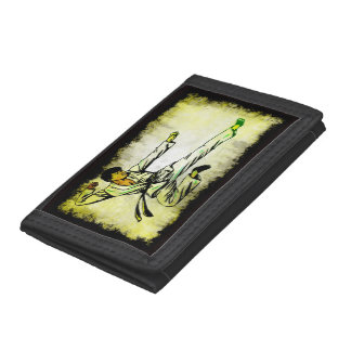 Karate 3 tri-fold wallet