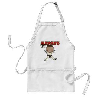 KARATE - African American Boy Tshirts and Gifts Aprons