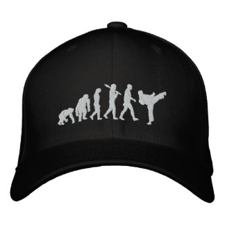 karate black belt martial arts martial artist fans embroidered baseball cap