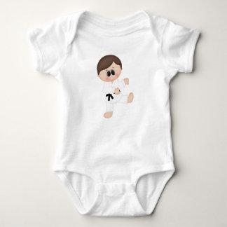 Karate Boy Kids Sports Baby Bodysuit