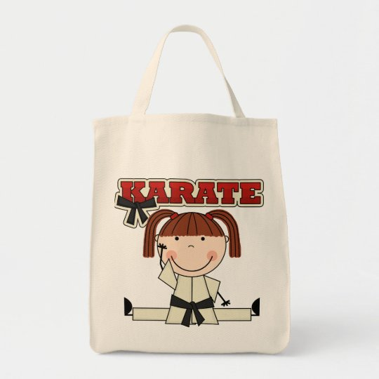 KARATE - Brunette Girl T-shirts and Gifts Tote