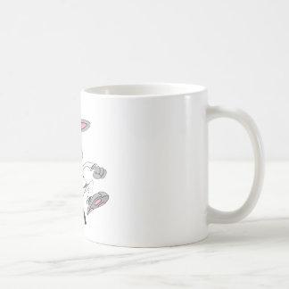 Karate-Bunny Coffee Mug