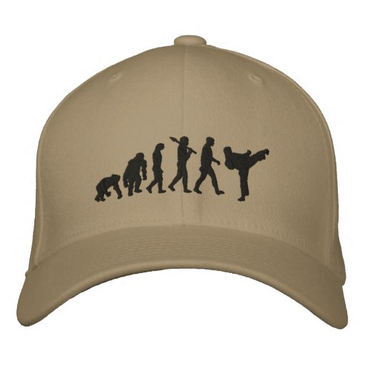 Karate Cap for martial artists Embroidered Hat