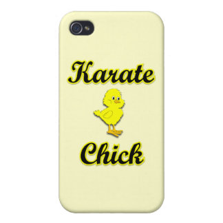 Karate Chick iPhone 4/4S Covers