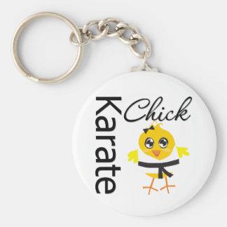 Karate Chick Keychains