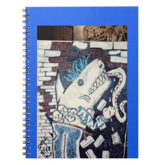 Karate chop shark notebooks