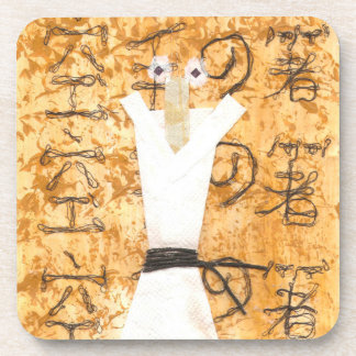 Karate Chopstick Cork Coasters