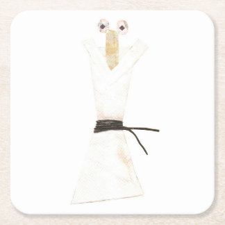 Karate Chopstick Custom Coaster