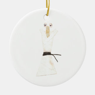 Karate Chopstick Ornament