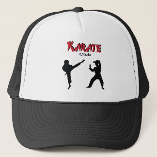 Karate club trucker hat