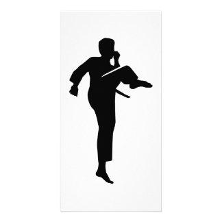 Karate Customised Photo Card