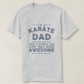 Karate Dad Vintage (Blue) T-Shirt
