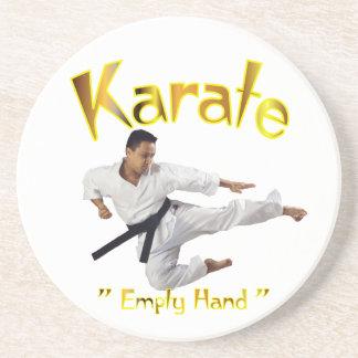 karate drink coasters