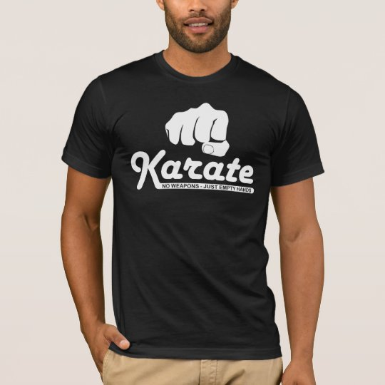 Karate - Empty Hands T-shirt
