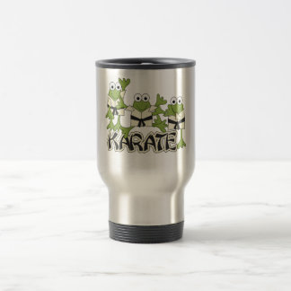 Karate Frogs Tshirts and Gifts Travel Mug