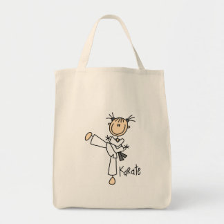 Karate Girl Tshirts and Gifts Tote Bag