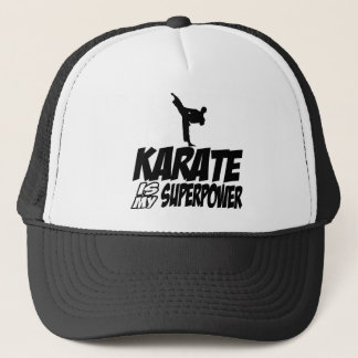 karate is my superpower trucker hat